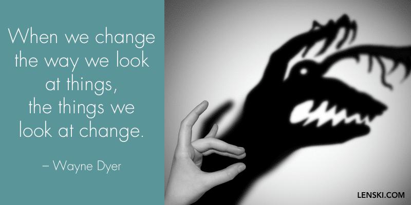 cita de Wayne Dyer a propósito de cómo tratar con gente difícil