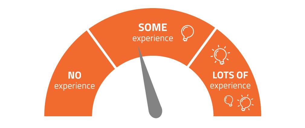 niveles de experiencia en la innovación en la empresa